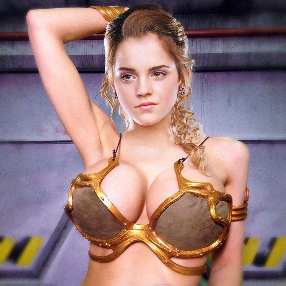Watson boobs emma Emma Watson